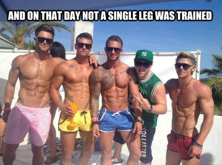 Legs day, lads?