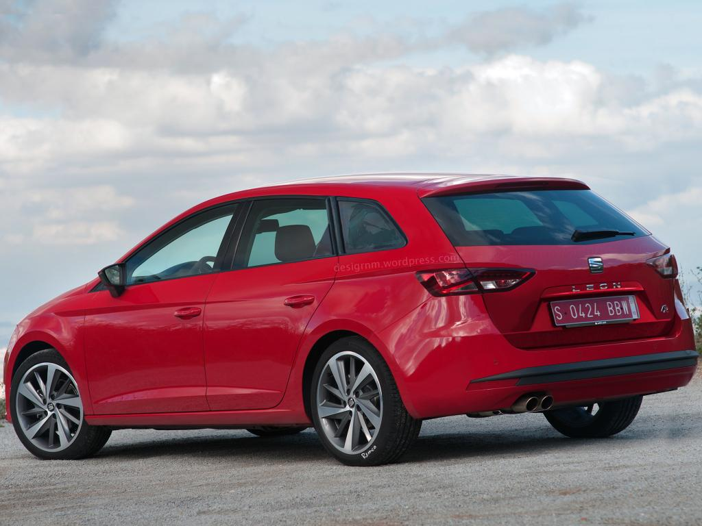 New Seat Leon ST estate pictures » BurnTech.TV | Fitness Product ...