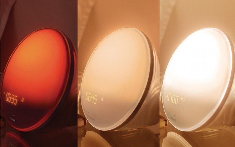 philips wakeup light bedtime light